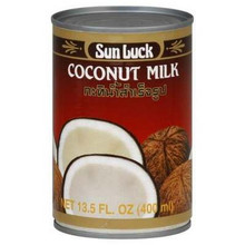 Coconut Milk, 12 of 13.5 OZ, Sun Luck