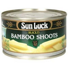 Bamboo Shoot, Sliced, 12 of 8 OZ, Sun Luck