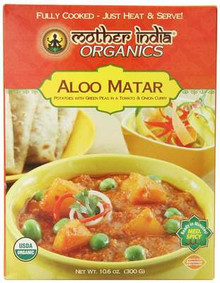 Aloo Matar, 6 of 10.6 OZ, Mother India Organics