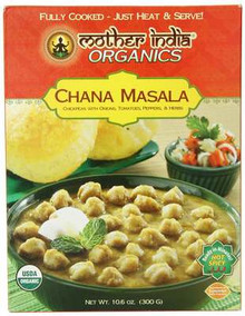 Chana Masala, 6 of 10.6 OZ, Mother India Organics