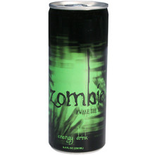 Zombie Awake The Dead Energy Drink 8.4 oz  From Boston America