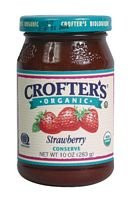 Strawberry, Fair Trade, 6 of 10 OZ, Crofters