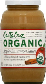 Apple Cinnamon, 12 of 6 of 4 OZ, Santa Cruz Organic