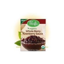 Cranberry Sauce, Whole Berry, 12 of 15.6OZ, Pacific Natural Foods