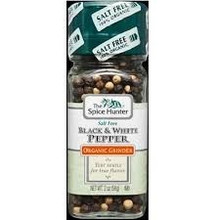 Black & White Pepper, 16 of 2 OZ, Spice Hunter