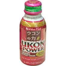 Ukon Energy Orange & Cassis Drink 3.4 oz  From House Foods