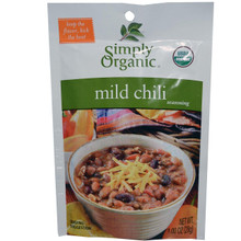 Chili, Mild, 12 of 1 OZ, Simply Organic