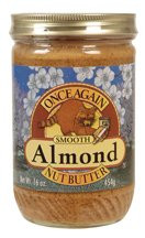 Almond Butter Smooth No Salt, 12 of 16 OZ, Once Again