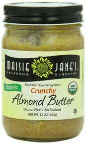 Almond, Crunchy, 12 of 12 OZ, Maisie Jane'S