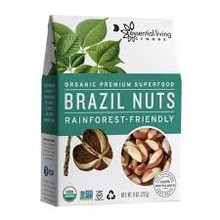 Brazil Nuts, 6 of 8 OZ, Essential Living Foods