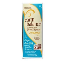 Coconut/Peanut Spread Creamy, 60 of  1.15 OZ, Earth Balance