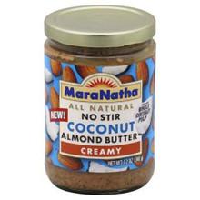 Coconut Almond, Creamy, 12 of 12 OZ, Maranatha