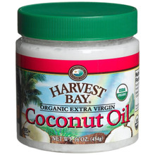 Coconut, Extra Virgin, 16 OZ, Harvest Bay