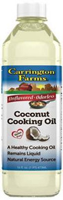 Coconut Cooking Oil, 6 of 16 OZ, Carrington Farms