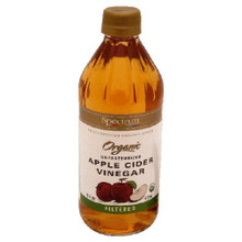 Apple Cider, Raw, Filtered, 12 of 16 OZ, Spectrum Naturals