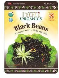 Black Beans, 6 of 10 OZ, Jyoti Organics