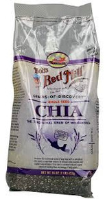 Chia Seeds, 4 of 16 OZ, Bob'S Red Mill