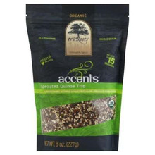 Accents, Sprouted Quinoa Trio, 6 of 8 OZ, Tru'Roots