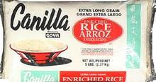 Canilla, Rice Long Grain, 12 of 80 OZ, Goya