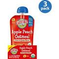 Apple Peach Oatmeal, 12 of 4.2 OZ, Earth'S Best Baby Foods