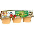 Apple Sauce Cups, 12 of 6 of 4 OZ, Earth'S Best Baby Foods