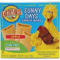 Apple Snack Bars, 6 of 5.30 OZ, Earth'S Best Baby Foods