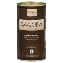 Dark, Unsweetened, Fair Trade, 6 of 8 OZ, Dagoba Organic Chocolate