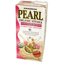 Organic Soymilk Unsweetened 32 oz  From Kikkoman