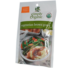Gravy, Vegetarian Brown, 12 of 1 OZ, Simply Organic