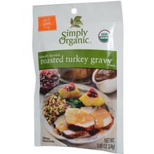 Gravy, Roasted Turkey, 12 of 0.85 OZ, Simply Organic