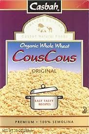 Couscous, Whole Wheat, 12 of 10 OZ, Casbah