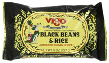 Black Beans and Rice, 12 of 8 OZ, Vigo
