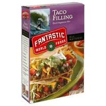 Taco Filling, 6 of 4.4 OZ, Fantastic World Foods