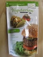 Vegetarian Hamburger Mix, 6 of 5.7 OZ, Harmony Valley