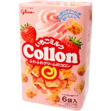 Glico Strawberry Collon 2.85 oz  From Glico