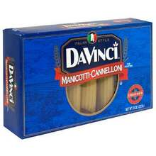 Cannelini - Manicotti, 12 of 8 OZ, Da Vinci