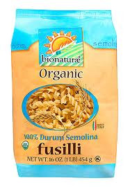 Fusilli, 12 of 16 OZ, Bionaturae