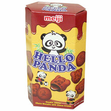 Hello Panda Double Chocolate 1.74 oz  From Meiji