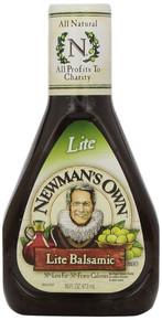 Balsamic Vinaigrette, Light, 6 of 16 OZ, Newman'S Own
