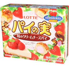 Lotte Strawberry Cheesecake Balls 2.43 oz  From Lotte
