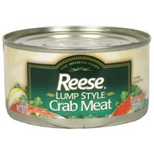 Lump Style Crab Meat, 12 of 6 OZ, Reese