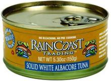 Albacore, Solid White, 12 of 5.3 OZ, Raincoast Trading