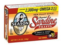 Fillets, Sweet & Tangy Sauce, 12 of 3.75 OZ, Seasons