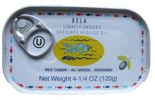 In Olive Oil, 12 of 4.25 OZ, Bela-Olhao