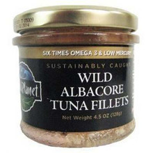 Prem Albacore Fillet/Olive Oil, 12 of 4.5 OZ, Wild Planet