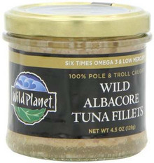 Premium Albacore Fillets, 12 of 4.5 OZ, Wild Planet