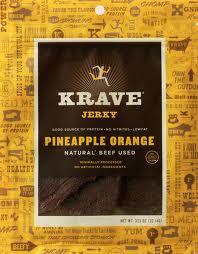 Beef, Pineapple Orange, 8 of 3.25 OZ, Krave