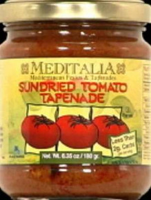 Tapenade, Sun Dried Tomato, 6 of 6.35 OZ, Meditalia