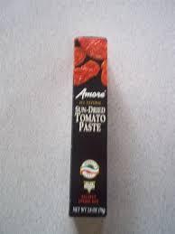 Sun Dried Tomato Paste, Tube, 12 of 2.8 OZ, Amore