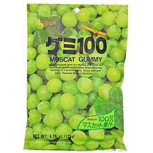 Kasugai Muscat Gummy 3.77 oz  From Kasugai